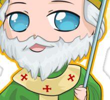 Chibi St. Patrick Sticker