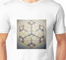 Seven Star Tetrahedrons - Colored Unisex T-Shirt