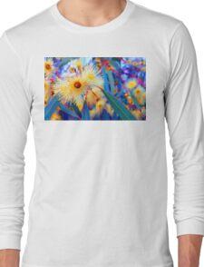 Vibrant Gum Blossoms Long Sleeve T-Shirt