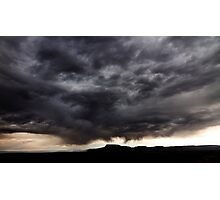 Storm over Goblin Valley State Park Photographic Print
