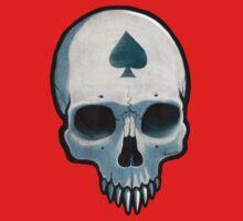Vampire Skull, Ace of Spades Baby Tee