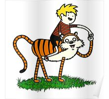 calvin and hobbes66 Poster