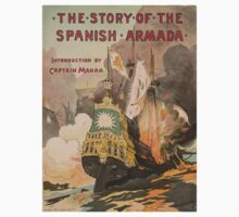 Artist Posters The story of the Spanish Armada introduction by Captain Mahan 1008 One Piece - Long Sleeve