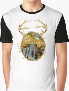 Stained Glass Rivendell Graphic T-Shirt