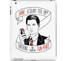 Agent Dale Cooper iPad Case/Skin