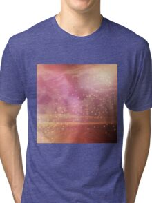 Ocean sunset glow Tri-blend T-Shirt