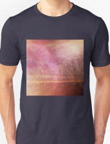Ocean sunset glow Unisex T-Shirt