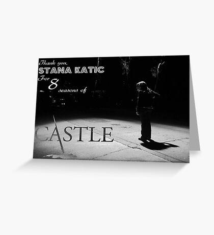 #SaveCastle Greeting Card
