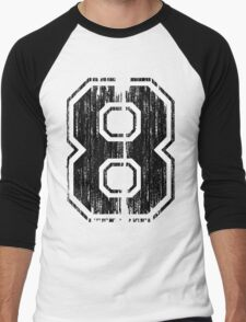 Bold Distressed Sports Number 8 T-Shirt