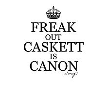 Caskett Canon Photographic Print
