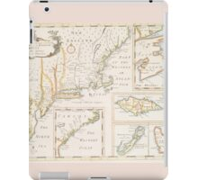 Historic Map of North america iPad Case/Skin