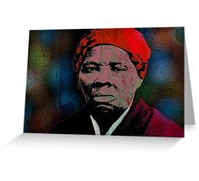 HARRIET TUBMAN-2 Greeting Card