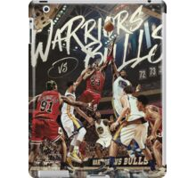 Chicago Golden State Sports Basketball Art iPad Case/Skin