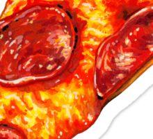 Pepperoni Pizza Pattern Sticker
