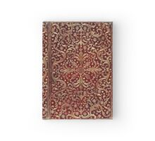 Golden Swirled Red Book Hardcover Journal