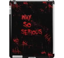 The Joker - Why So Serious Design iPad Case/Skin