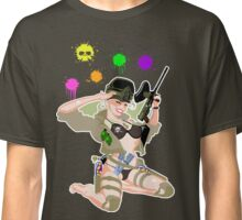 Paintball PinUp Classic T-Shirt