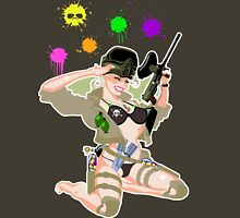 Paintball PinUp Unisex T-Shirt