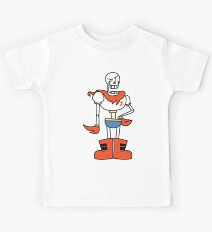 Papyrus cartoon style Kids Tee