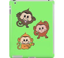 Silly Monkeys iPad Case/Skin