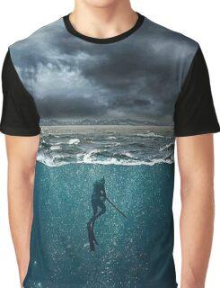 Spearfishing Graphic T-Shirt
