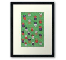 Funky Pineapples Framed Print