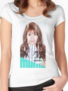 TWICE MOMO 'Cheer Up' Women's Fitted Scoop T-Shirt