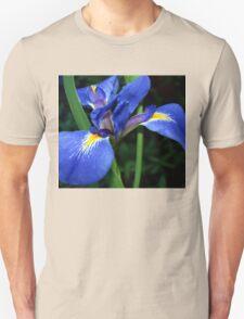 Blue flag beauty Unisex T-Shirt