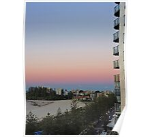 Coolangatta sunrise, Queensland, Australia Poster