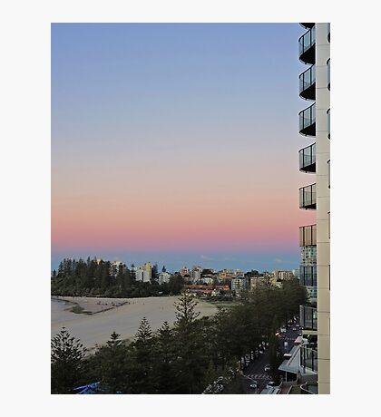 Coolangatta sunrise, Queensland, Australia Photographic Print