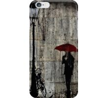 night rain iPhone Case/Skin