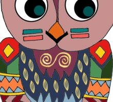 Woodland Owl Sticker