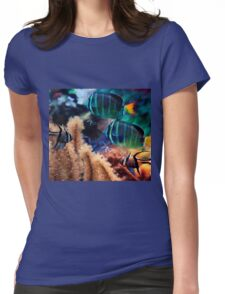 Tropical fish Womens Fitted T-Shirt