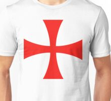 Templar cross Unisex T-Shirt