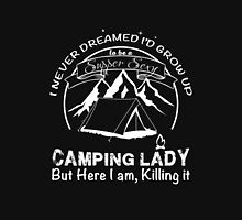 Camping Lady supper sexy Unisex T-Shirt