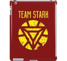 team stark t shirt iPad Case/Skin