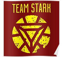 team stark t shirt Poster