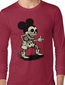Skull mouse Long Sleeve T-Shirt