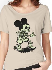 Skull mouse Women's Relaxed Fit T-Shirt