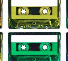 Cassette Rainbow Sticker