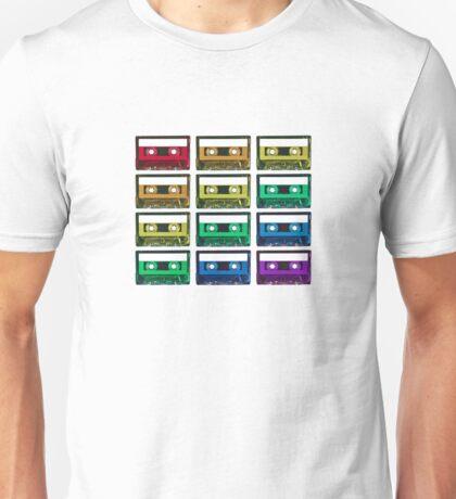Cassette Rainbow Unisex T-Shirt