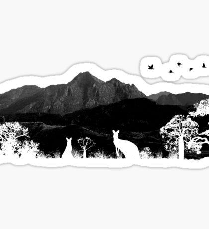 Wild Australia Sticker