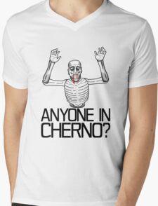 Anyone in Cherno? (3) Mens V-Neck T-Shirt