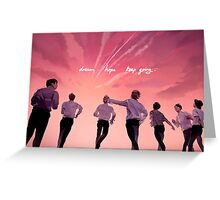 BTS YOUNGFOREVER Greeting Card