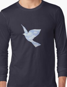 In the style of Magritte Long Sleeve T-Shirt