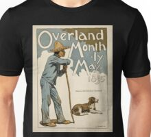 Artist Posters Overland Monthly May 1895 L Maynard Dixon 0295 Unisex T-Shirt