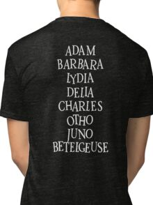 Beetlejuice Characters Tri-blend T-Shirt