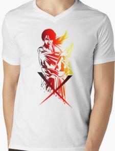 Samurai X Mens V-Neck T-Shirt
