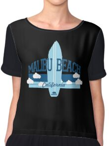 Malibu - California. Chiffon Top
