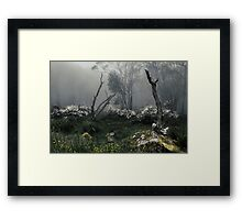 Fogscape Framed Print